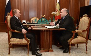 М. Мишустин и В. Путин