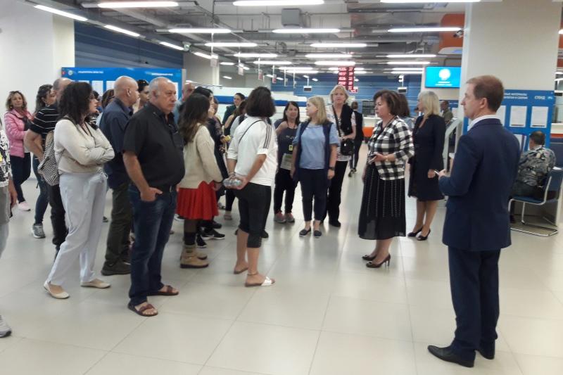 делегация Департамента информационных технологий Израиля